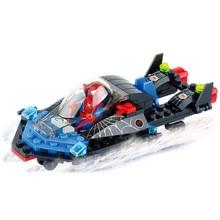 Kazi Spider Man Series Blackly Terminator Building Block Sets 133+pcs DIY Bricks Hot Sale Toys For Children