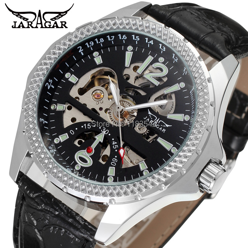New Business Watches Men Factory Shop Top Quality Automatic Men Watch Free Shipping JAG8052M3S3