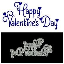 HENGHOME Скрапбукинг сталь ремесло высечки металла Счастливый День святого Валентина высечки металла создание штампов тиснение карты трафарет