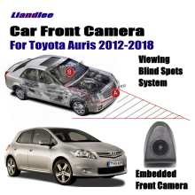 Liandlee For Toyota Auris 2012-2018 2013 2014 2015 Car Front View Camera / Cigarette Lighter Switch / 4.3 LCD Monitor Display for toyota allion premio auris corolla bb liislee car side view camera blind spots areas flexible copilot camera monitor syste