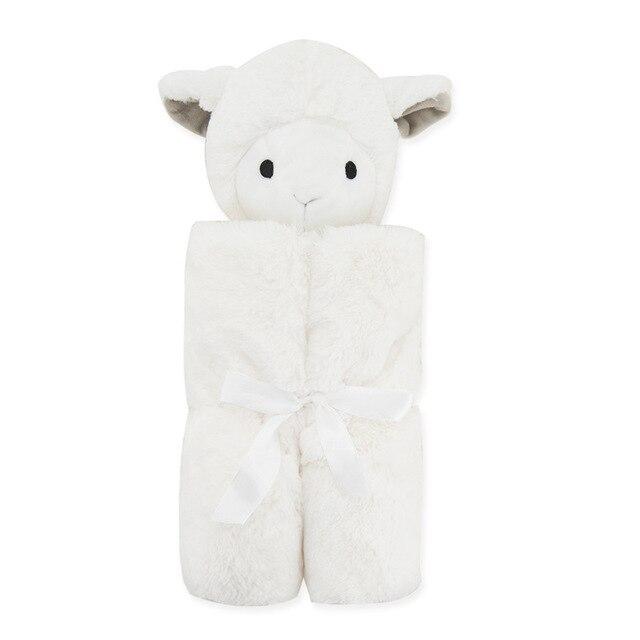 Newborn sleeping bag baby winter baby cotton coral velvet blanket hold infant child warm sleeping bag for stroller sleepsack
