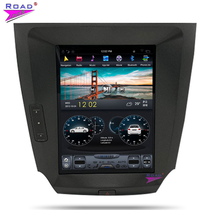 Roadlover Vertikale Bildschirm 2G + 16 GB Android 7.1 Auto GPS Navigation-Player Für Lexus IS250 IS300 2005-2011 stereo 2Din Radio KEINE DVD
