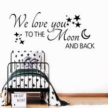 Classic English Quotes Wall Art Decal Decoration Fashion Sticker Nursery Kids Room Wall Decor Background Wall Art Decal