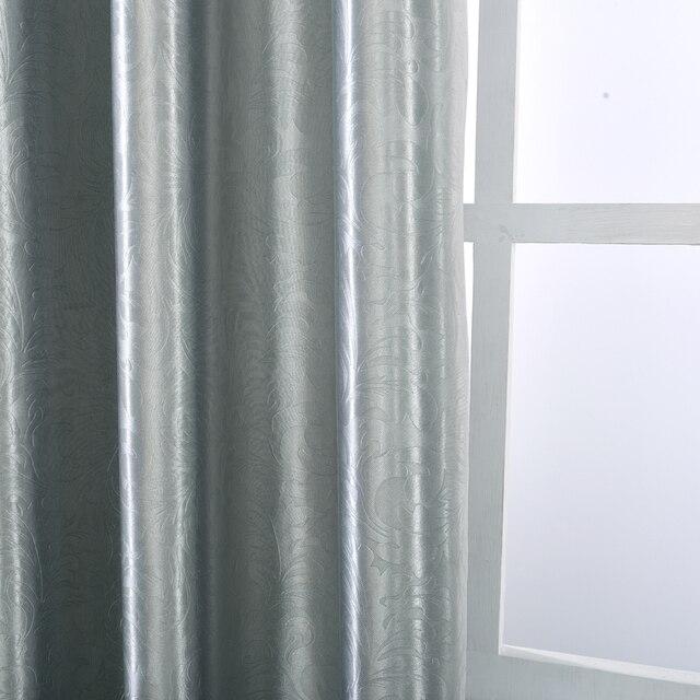 Moderne Blackout Vorhänge Voller Schatten Einfarbig Fenster