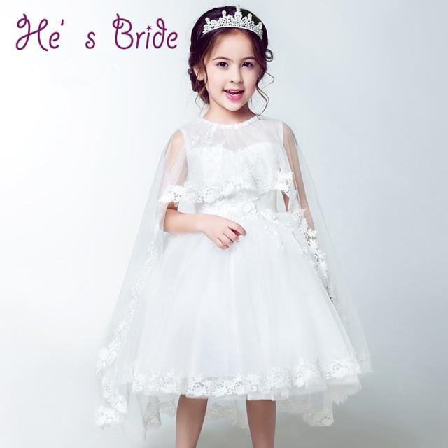 8b9cd72df17f Femmina Fiore Vestito Dalla Ragazza 2017 Nuovo Pannello Esterno Costume  Bambini Principessa Abito Da Sposa con