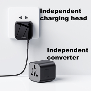 Image 2 - Baseus 18ワットreizen eu usb充電器急速充電3.0マシン用サムスンtelefoon oplader USB C pd 3.0急速充電器マシン用iphone 11プロ