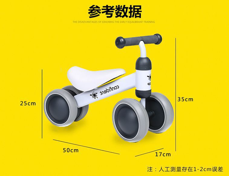HTB1yAk0aLY85uJjSZFzq6A93VXaH New brand children's bicycle balance scooter walker infant 1-3years Tricycle for driving bike gift for newborn Baby buggy