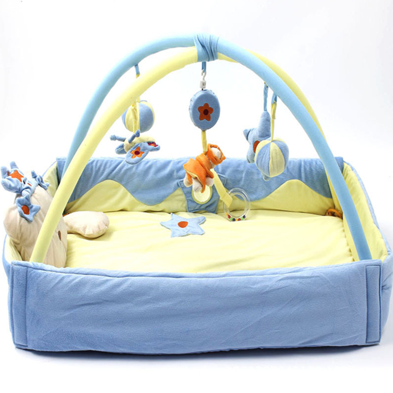 buy pink blue baby activity gym play mat. Black Bedroom Furniture Sets. Home Design Ideas