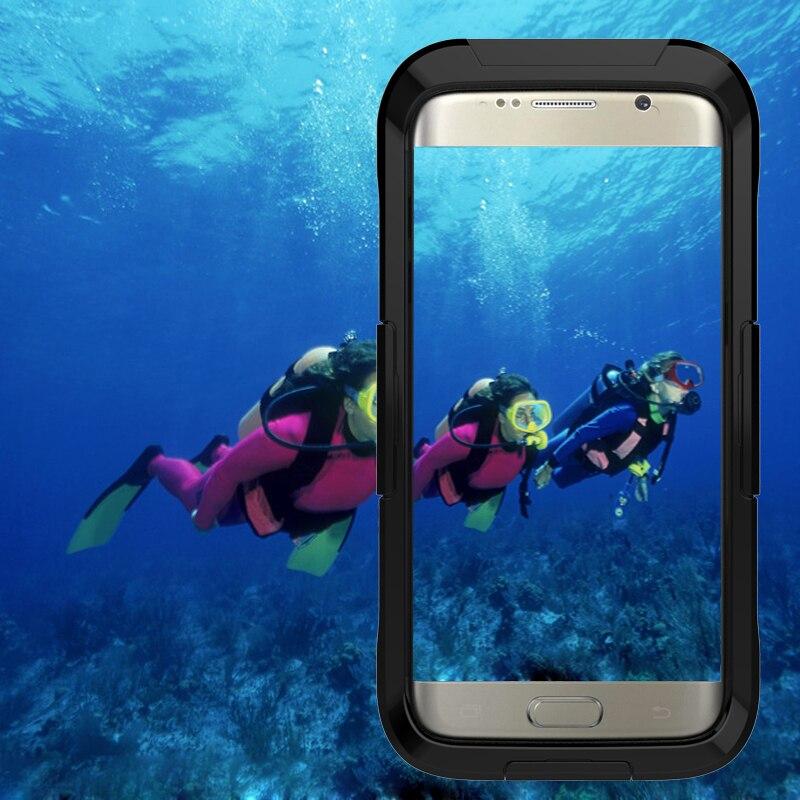 IP68 5M simning fodral för iPhone 7 vattentätt etui akryl dykning - Reservdelar och tillbehör för mobiltelefoner - Foto 6