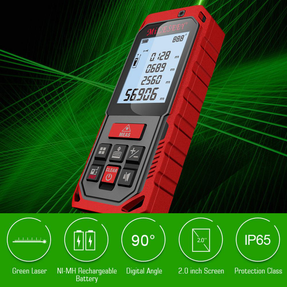S2 Laser Rangefinder 50M 70M 100M Rechargeable Green Distance Meter Laser Measure Angle Tools Diastimeter Red Measure ToolS2 Laser Rangefinder 50M 70M 100M Rechargeable Green Distance Meter Laser Measure Angle Tools Diastimeter Red Measure Tool