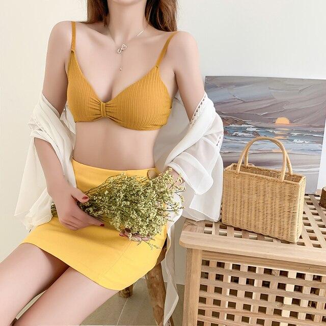 Sexy Bra Push Up Bras For Women Wireless Bralette Sexy Lingerie Seamless Women Underwear Soft Bra Comfort Cotton Brassiere 3