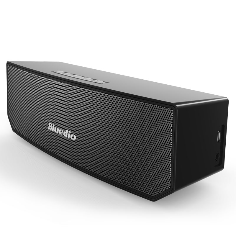 Bluedio BS-3 (Camel) Mini Bluetooth speaker Portable Wireless speaker 3D stereo Music clearance sale ufo shape portable mini rechargeable bluetooth v2 1 speaker black orange