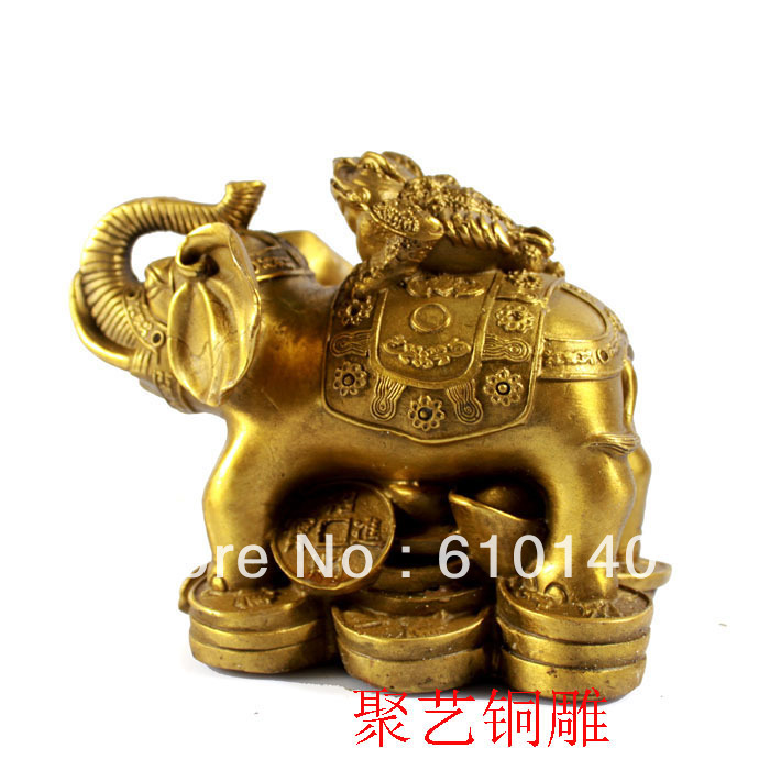 Bronze Sculpture, Like Copper Toad Decoration Lucky Ruyi At Home Bronze Statue Copper