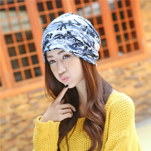 9e5c0863408 new arrive Korean Spring And winter hat Cotton blends Cap Women Thin  Wholesale female Skullies Beanies
