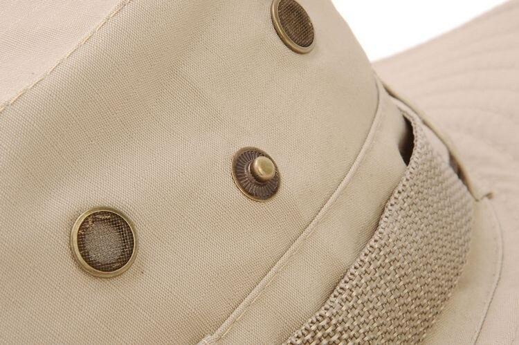 100pcs/pack Classic US Army Gi Style Boonie Jungle Hat Ripstop Cotton Combat Bush Sun Cap - 3