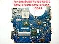 Para samsung rv410 rv510 placa madre del ordenador portátil ba92-07045b ba92-07045a scala-15l ddr3 100% probado perfect trabajo
