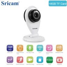 Sricam SP009 HD 720 P Мини Wi-Fi IP Камера Беспроводной P2P Видеоняни и радионяни сеть видеонаблюдения Камера с ИК-