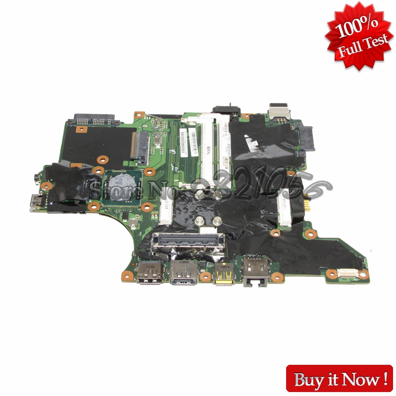 Фотография NOKOTION 75Y4122 PC Notebook Main Board For Lenovo Thinkpad T410I QS57 i5-520M Laptop Motherboard DDR3