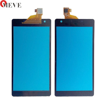 5pcs/lot OGS 5.0inch Top Front Digitizer Glass Panel for SONY Xperia Z2A D6563 Touch Screen
