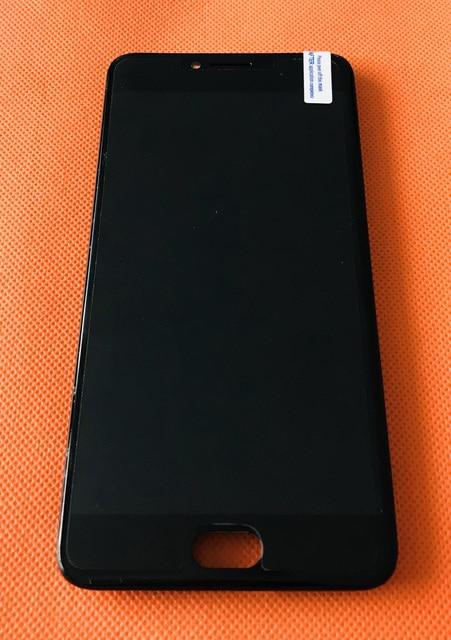 משמש מקורי LCD תצוגה + מגע Digitizer מסך + מסגרת עבור UMI UMIDIGI C הערה MTK6737T Quad Core 5.5 אינץ FHD משלוח חינם