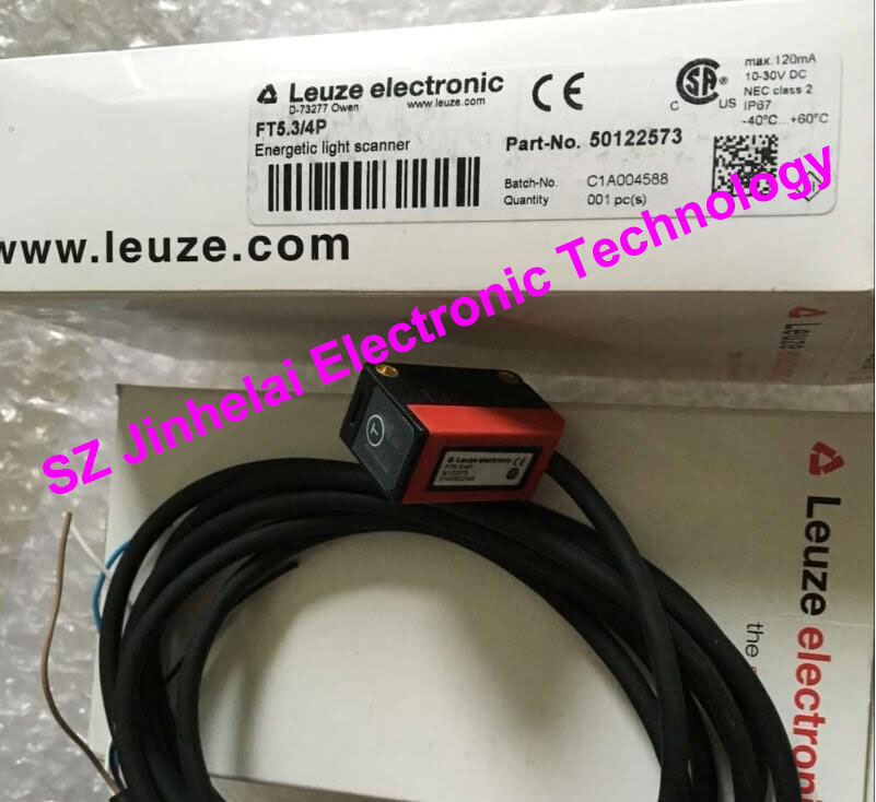 FT5.3/4P  New and original Germany LEUZE Photoelectric switch