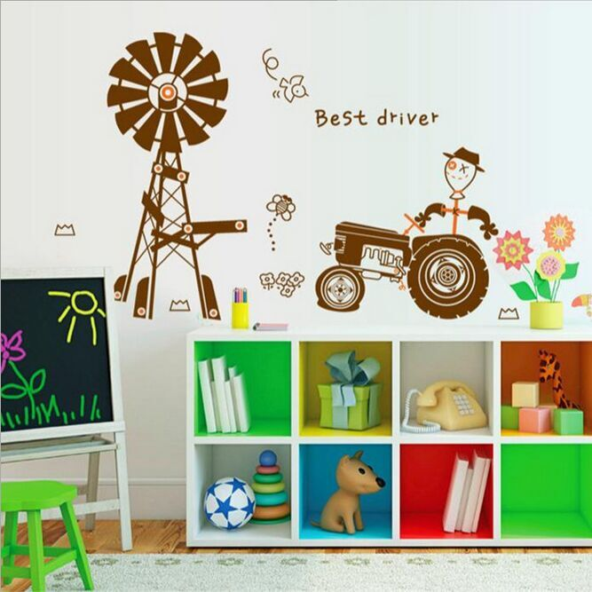 Free shipping new arrival Removable PVC Kids Wall Sticker ...