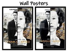 Woman in Gold Movie Home Decorative Painting White Kraft Paper Poster 42X30cm