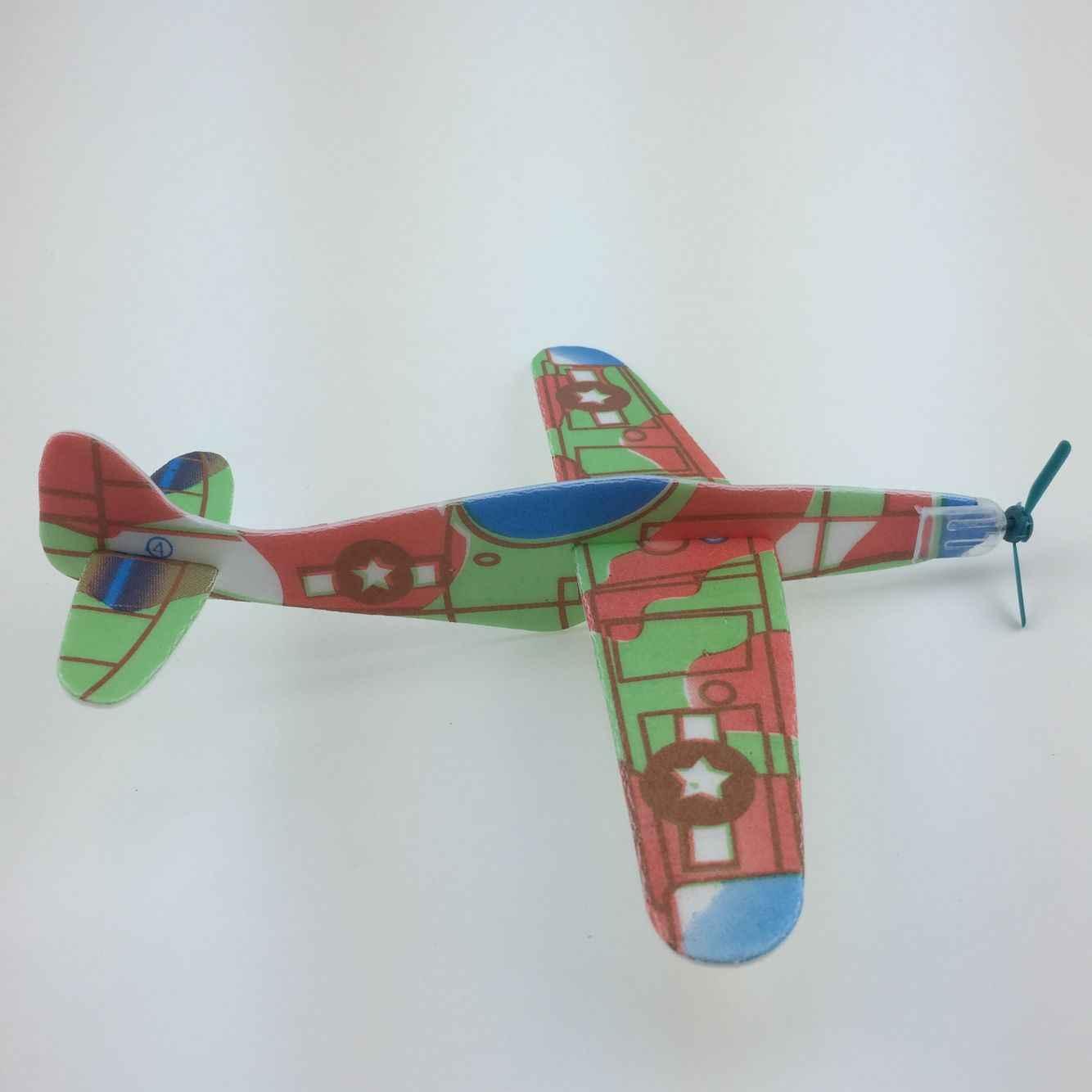 Новые 12 шт. фантастические летающие планеры самолеты самолет вечерние сумки наполнители детские игрушки Подарочная модель