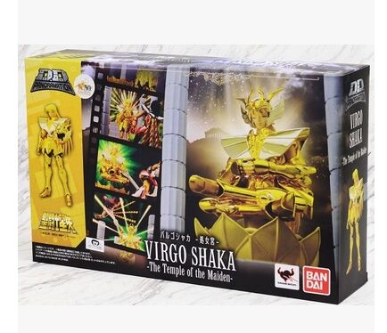 D D PANORAMATION DDP shaka Virgo pvc action figure toy model