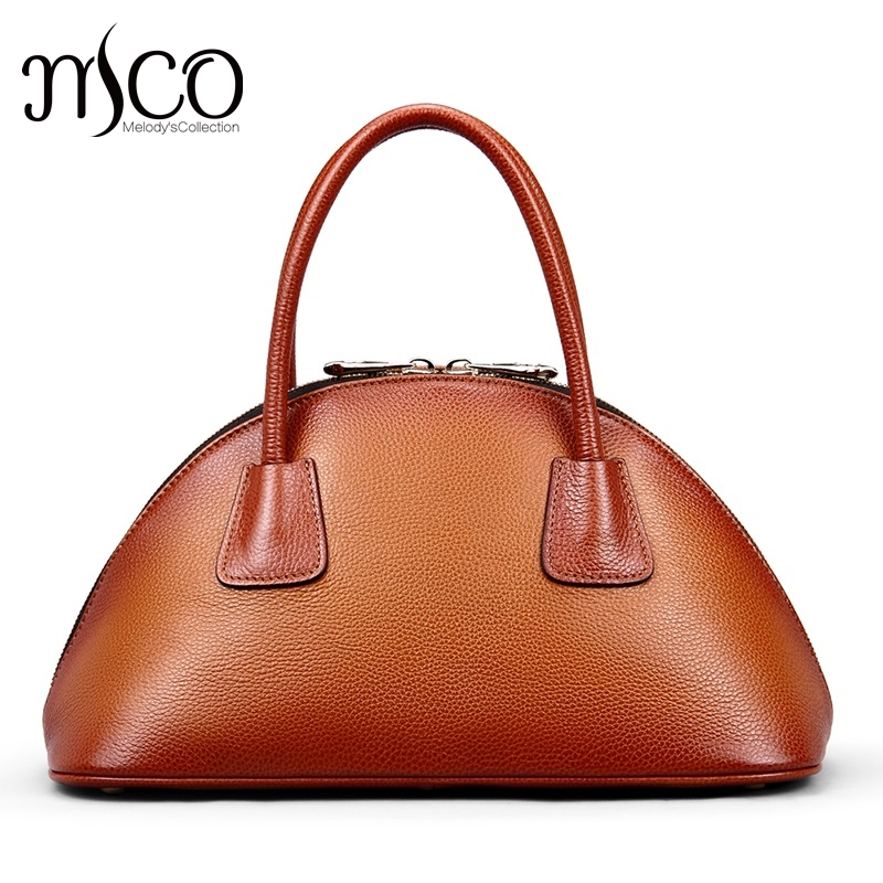 Designer Genuine Leather Bags Female Luxury Women's Handbags Shoulder Bag Real Leather Shell Tote Bag sac a main femme de marque fashion genuine leather bag handbags women famous brand shoulder bag crocodile top handle bags female sac a main femme de marque