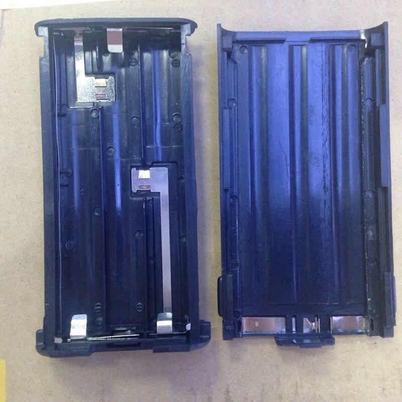 bilder für Honghuismart Batterie fall box 6xAA für Kenwood TK3107, TK2107, TK378, TK278, TK378G, TK278G etc walkie talkie ersetzen von KNB-14