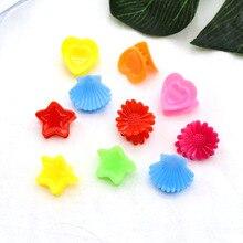 20pcs/set Sweet Cute Flower Shell Star Hart Min Hair Clip Claw For Child Girl Women Kids Hair Jewelry Accessories jillian hart sweet blessings