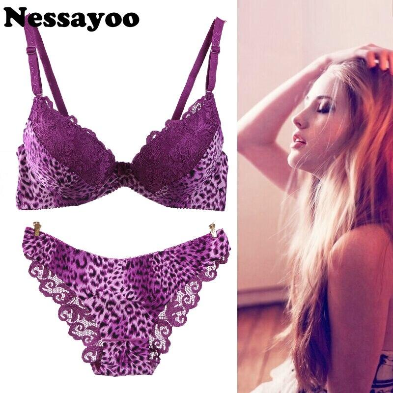 850228cc22b4 Push Up Bra C Cup Sexy Bra Suit 34C 36C 38C intimates Sexy B C Cup Bra  Brief Set Luxury Lace Push Up Bra Set Women Underwear Set