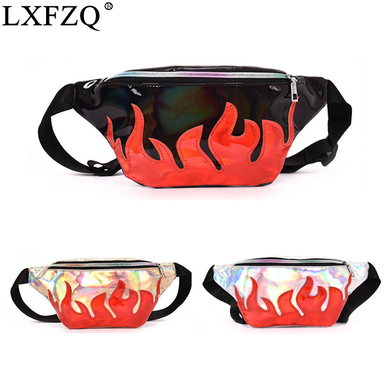 Bag Belt NEW Waist Pack Brand Waist Bag Matte Material Fanny Pack Laser Purse Translucent Reflective Chest Waist Bag Fanny Pack