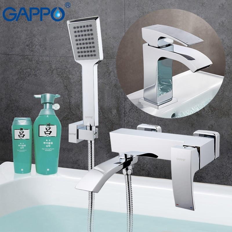 Gappo ванна кран s смеситель для ванной смеситель ванная комната Душ кран, смеситель воды раковина смеситель для душа системы