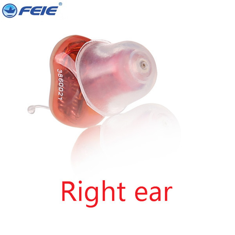 Feie mini hearing aid invisible hearing 4 channels digital ready to wear hearing aids cic Free Shipping S-12A 2017 hot sell cic cheapest digital mini hearing aids for the deaf s 10b seen on tv free shipping