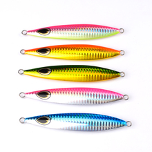 5pc Lead fish 60g-160g fishing lure 5 color fishing Bait Casting Lure Deep Bass Fishing Tackle Exported to Japan