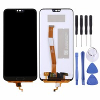 LCD Screen and Digitizer Full Assembly for Huawei Honor 10 (Not Supporting Fingerprint Identification)
