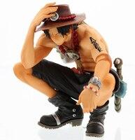 One Piece manga Ace PVC Action Ace Fire Devil Fruit Figure Toy One Piece Anime Mera Mera no Mi Model Toy Figurine Juguetes 20D
