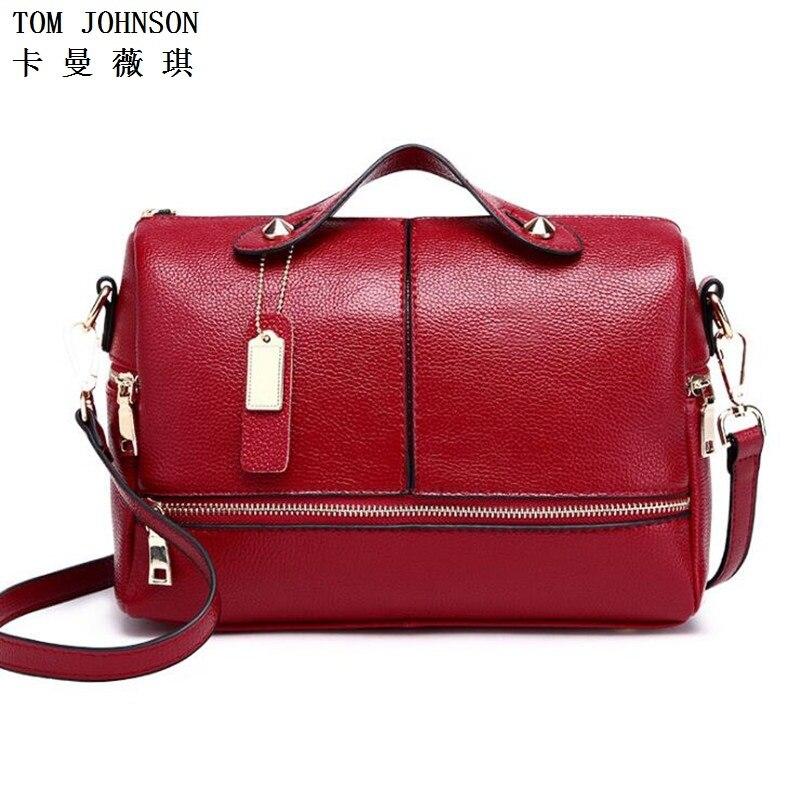 New 2017 female bags handbags women famous Genuine leather Women Handbag Cow Lea
