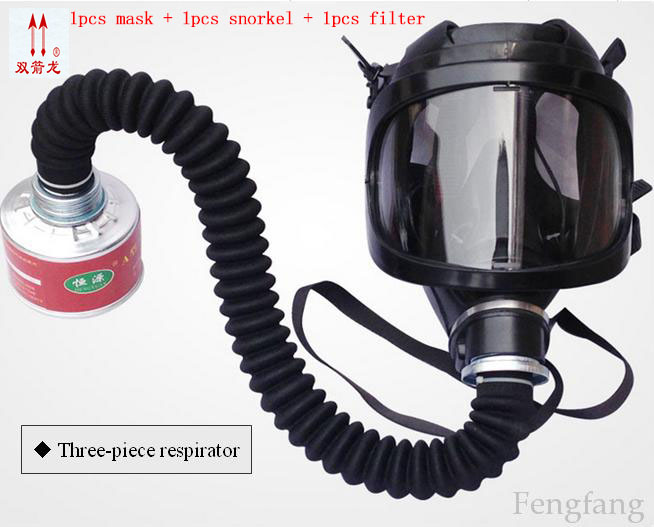 The Factory direct supply respirator gas mask silicone PC mirror full face respirator 4 professional he gas mask filter section 3m 6300 6003 half facepiece reusable respirator organic mask acid face mask organic vapor acid gas respirator lt091