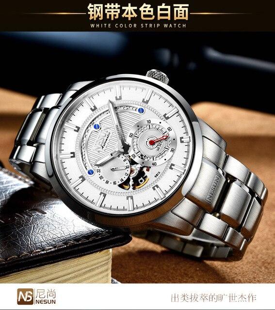 NESUN Watch Brand Automatic Mechanical 22 Jewels 1