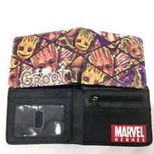 4a95eaa80 Nuevo Groot moneda cartera corta de dibujos animados bolso Color tarjeta  titular cremallera Poucht niños niñas