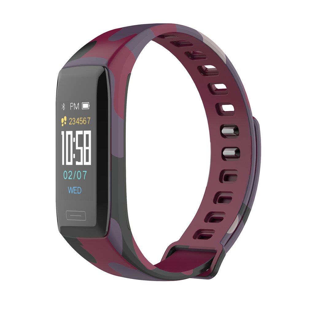 Smart Bracelet Heart Rate Monitor Wristband Multi-sports Bracelet Waterproof Smart Watch Color LCD Outdoor Sports 2019