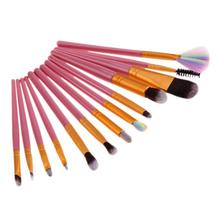 18pcs/set Makeup Brushes Set Foundation Power Contour Eyeshadow Eyeliner Lip Blending Highlight Brushes Cosmetic Beauty Tools