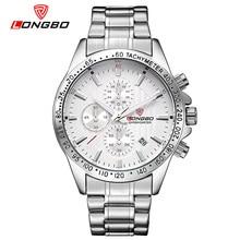 Мужские Часы Топ Luxury Brand LONGBO Кварцевые Часы Моды для Мужчин Из Нержавеющей Стали Водонепроницаемый Спорт Военная Наручные Часы 80177