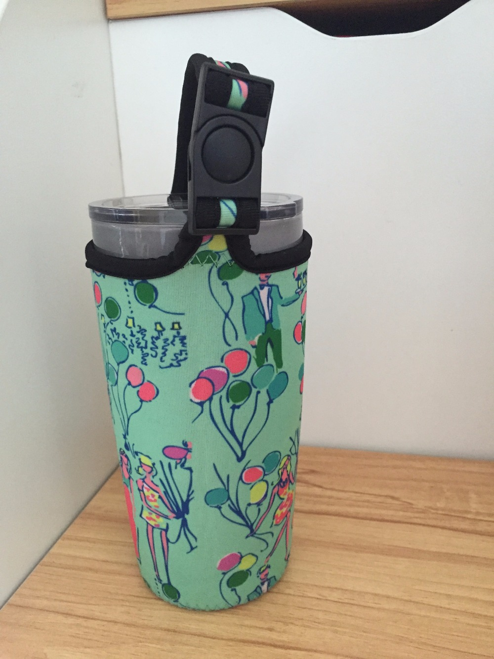 49dfe5e3285123 For Rtic 20oz Tumbler Travel Mug 20oz New Lilly Pulitzer Hard Transparent  Pop Neoprene Sport Bottle Carry Bag-in Water Bottle & Cup Accessories from  Home ...