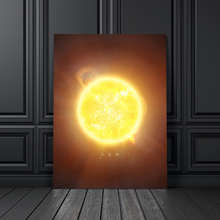 цена на Sun Venus Saturn Mars Earth Pluto Planet Wall Art Canvas Painting Nordic Posters And Prints Wall Pictures For Living Room Decor