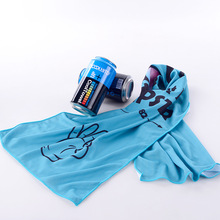 1PC 30*100cm Cold Sports Towel Running Gym Sweat-absorbent Sweat Men and Women Quick-drying Ice