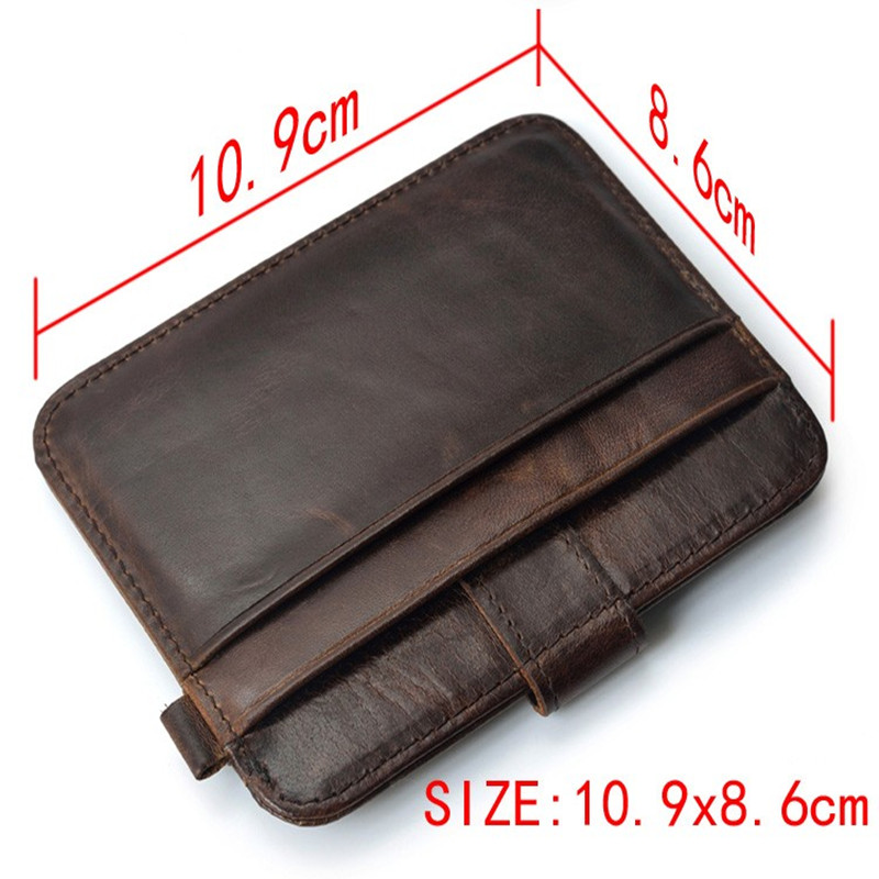 Купить с кэшбэком 100%genuineFamous Brand Luxury Slim Wallet Men Purse Male clamp Money Clip walet portfolio cuzdan thin perse Portomonee carteras